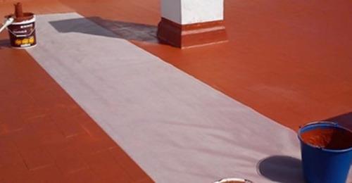 impermeabilización terrazas / frentes / edificios