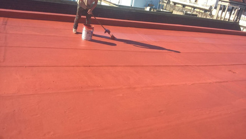 impermeabilización terrazas frentes pintura altura silleta