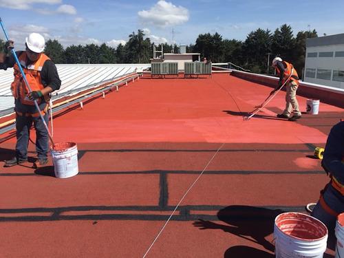 impermeabilizacion terrazas/frentes/techos presupuestos