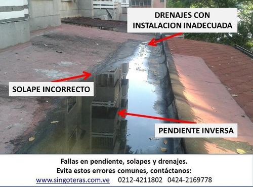 impermeabilizacion y reparacion techo jardin piscina y otros