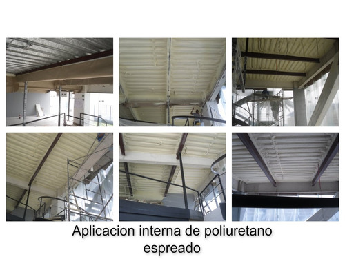 impermeabilizaciones, aislamientos termicos con poliuretano