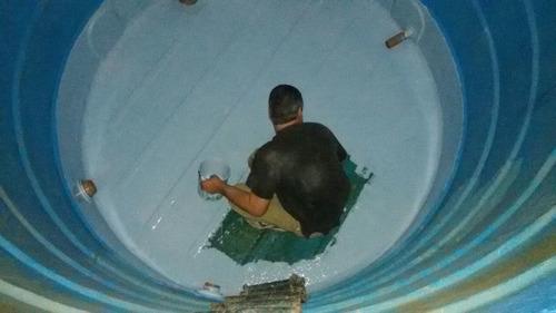 impermeabilização moderna revestimento com fibra de vidro