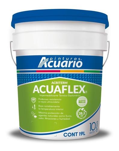 impermeabilizante aislante acriterm 10 años - 19 litros