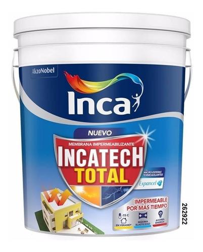 impermeabilizante incatech total 20 kgs. inca