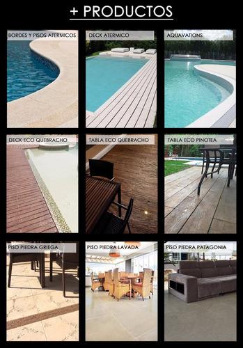 impermeabilizante para pisos simil madera cemento castelatto
