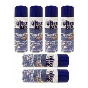 Impermeabilizante Para Tecidos Ultra Lub Kit Com 6 Unidades