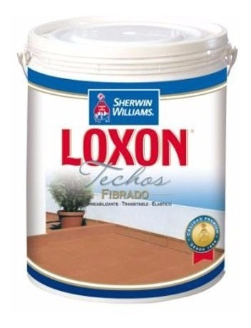 impermeabilizante sherwin williams loxon techos galon rojo