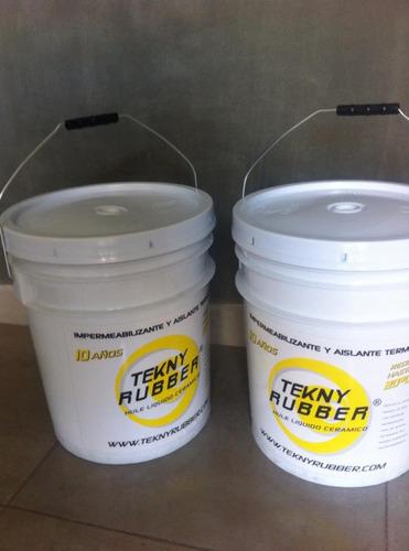 impermeabilizante y aislante termico hule liquido ceramico