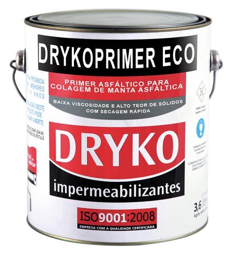 impermeabilzante asfalto para mantas 3,6 l dryko com 4