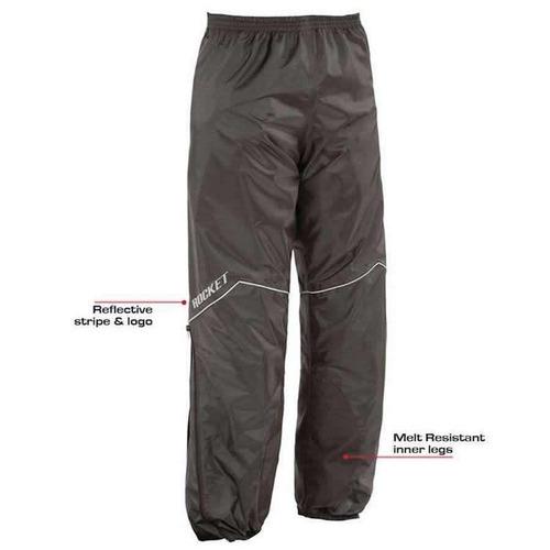 impermeable joe rocket rs-2 rain suit negro 2017