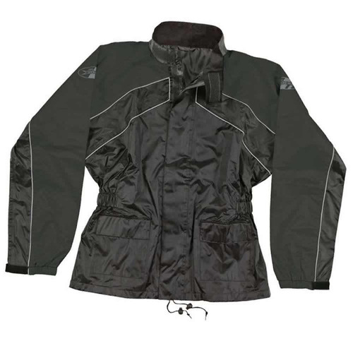 impermeable       joe rocket rs-2       rain suit      negro