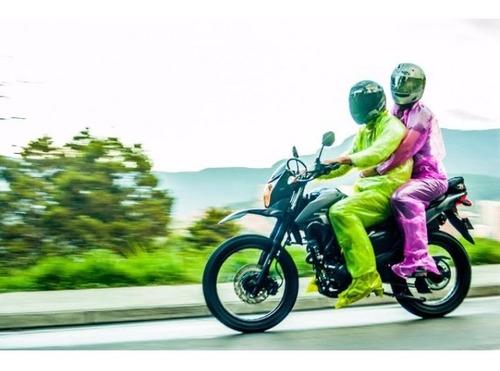 impermeable moto o bicicleta termosellado portable