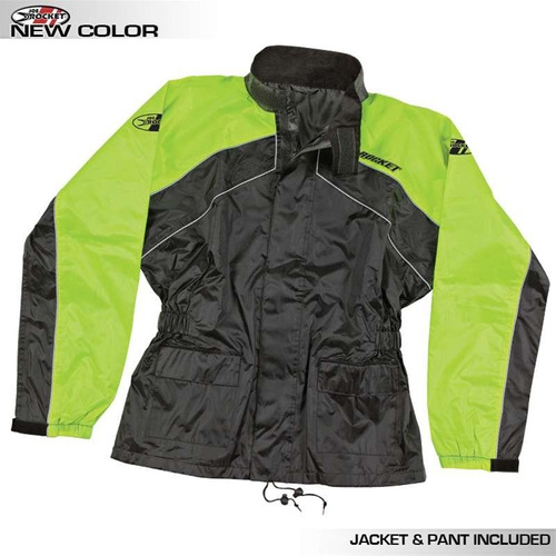 impermeable motociclista joe rocket rs2 motos contra agua
