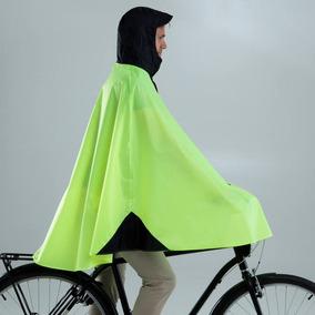 Buenos precios diversos estilos envío complementario Impermeable Para Ciclista Bici Urbana 500 Amarillo 8397112