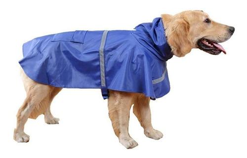 impermeable perro chubasquero mascota lluvia reflectivo