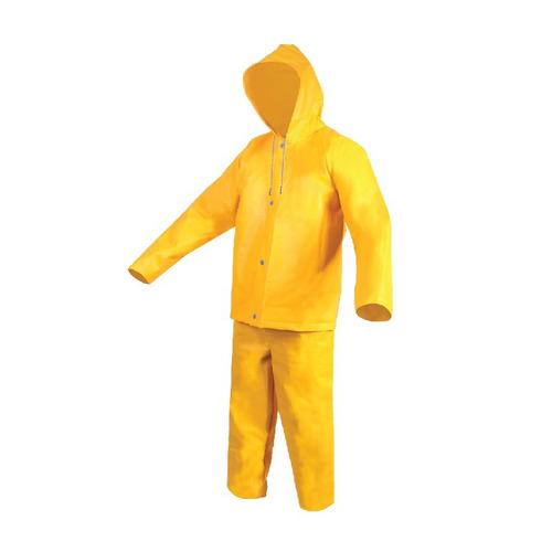 impermeable t-42 saco con capucha y pantalon (2 pzas)