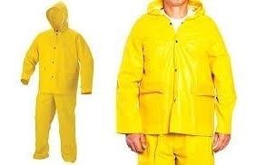 impermeable tipo conjunto pantalon y chaqueta