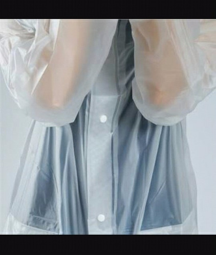 impermeable transparente unisex (distintas tallas)