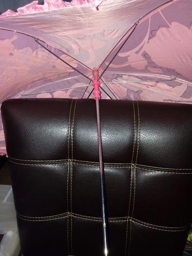 impermeable y paraguas disney store princesas abrigo lluvia