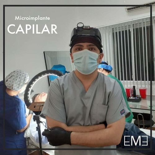 implante capilar todas las unidades foliculares por $95.000