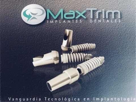 implante dental maxtrim. conexión externa/ interna.