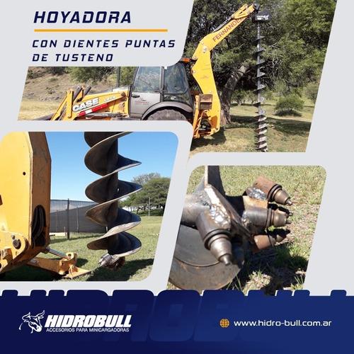 implemento hoyadora hidrobull