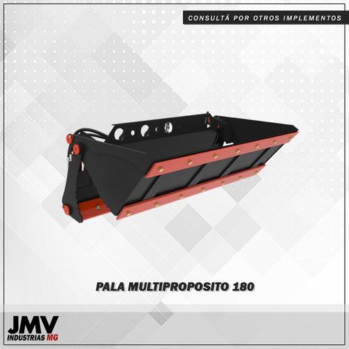 implemento jmv pala multiproposito para minicargadora