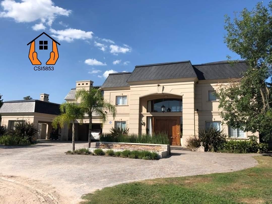 imponente casa en venta amoblada en golf club san eliseo