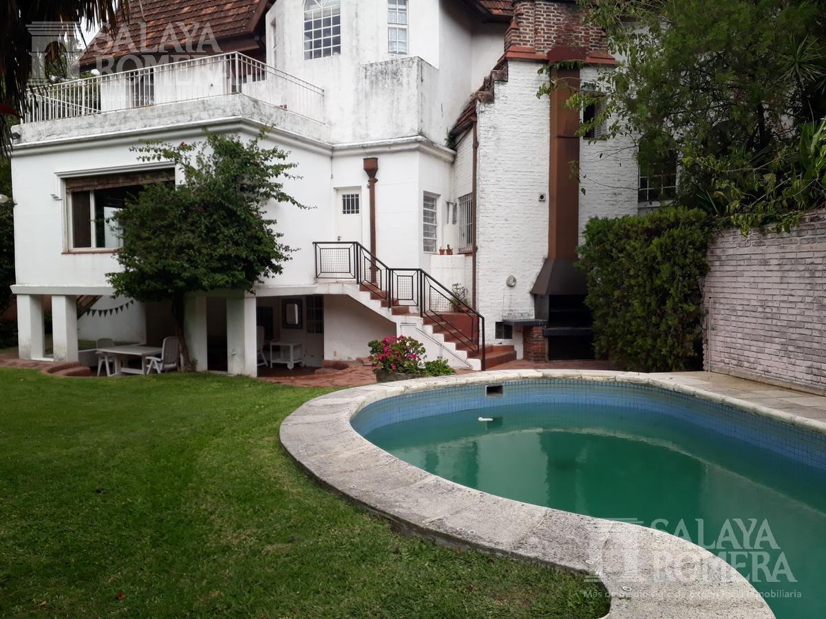 imponente casa  en venta libertador al rio - la lucila