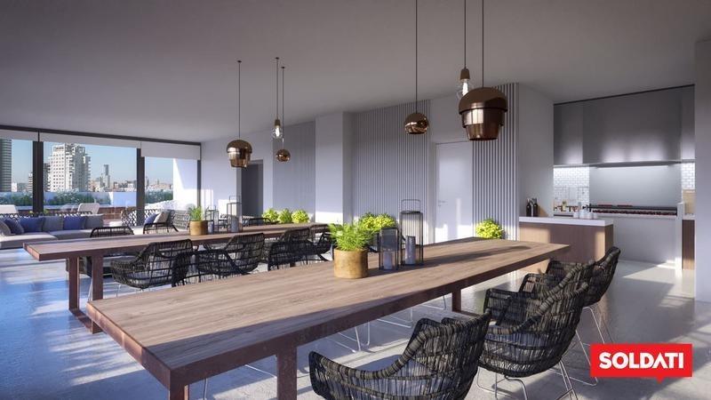 imponente tres ambientes en villa urquiza