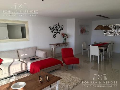 imponente unidad de 2 suites, toilette, living comedor, cocina, lavadero. disponible verano 2019