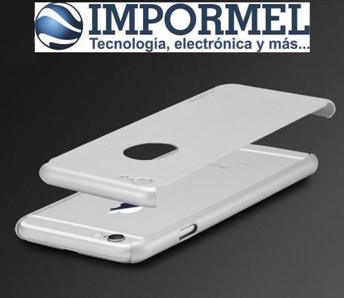 impormel estuche protector iphone 6 6s floveme mica vidrio
