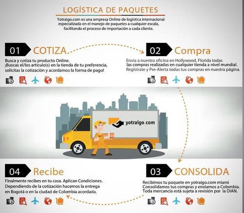 importacion - compra en estados unidos y envio a colombia