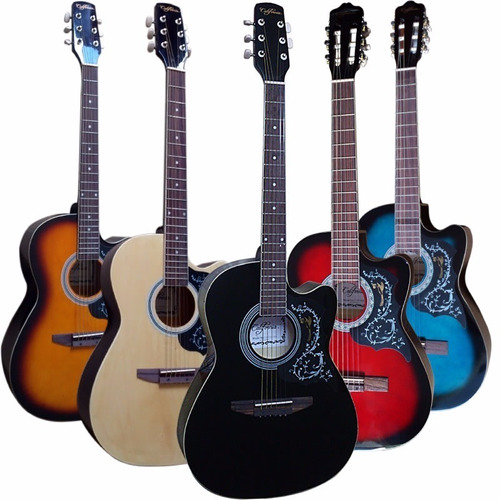 importacion guitarras acusticas california - peru