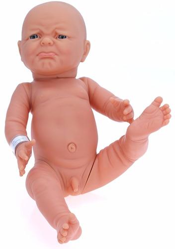 importado muñeco bebe niño cuerpo completo de vinilo suave
