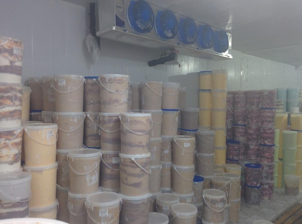 importante empresa/fábrica de helados premium en marcha