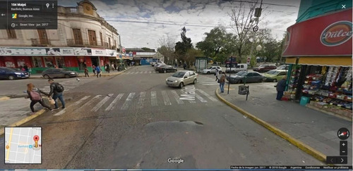 importante lote con local - sobre calle maipú, banfield