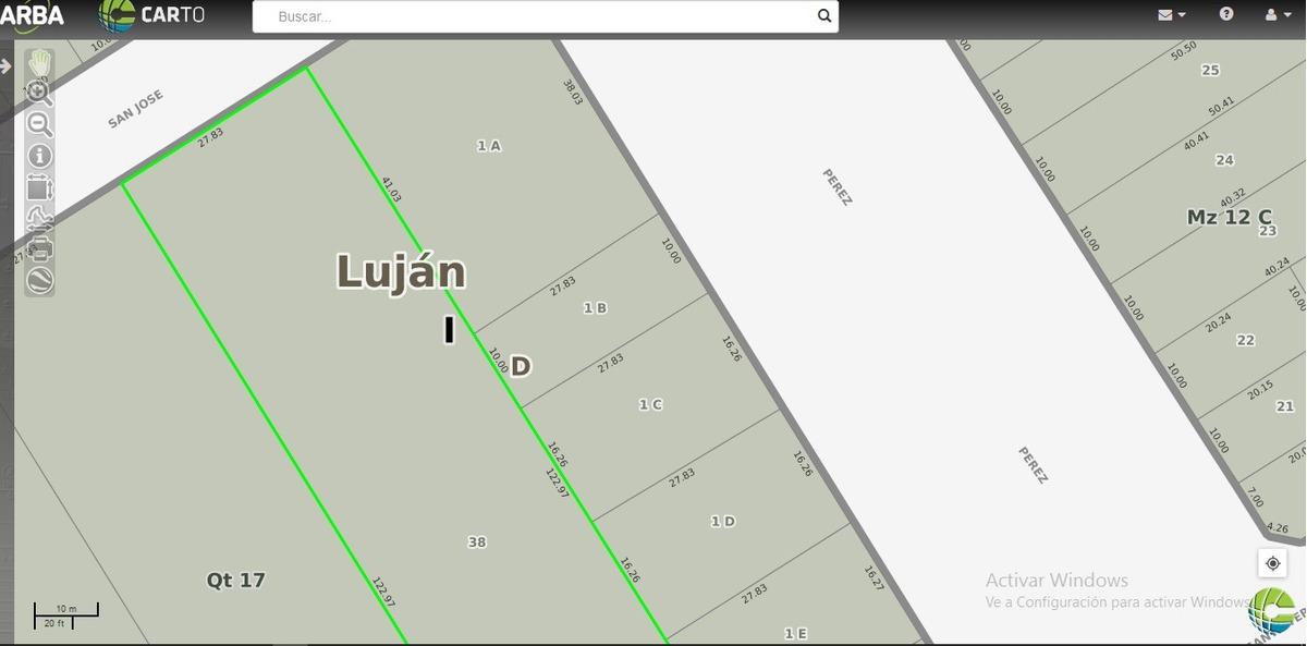 importante terreno a 10 cuadras centro-apto varios emprendimientos
