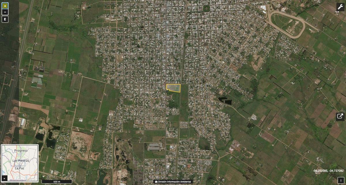 importante terreno en las piedras av pouey y ortiz 24.238m2