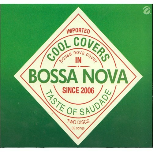 imported cool covers bossa nova 2 cd ' s 36 canciones
