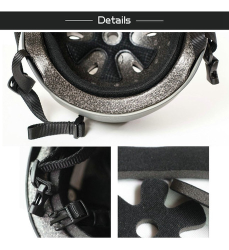 imporx skateboard helmet casco multi-deporte - resistenci