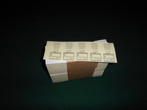 imprenta, boletas 5x1 autoc. 500 - $ 6.000+iva; 1/2 carta