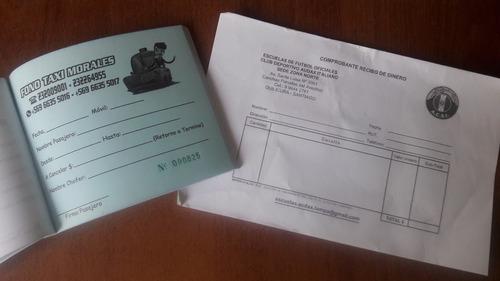 imprenta, boletas de venta, formularios, orden de trabajo.