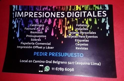 imprenta digital