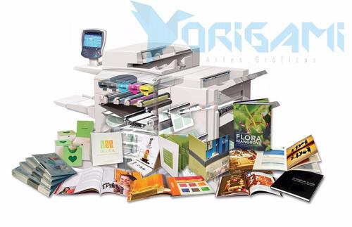 imprenta digital tarjetas de presentación folletos, carpetas