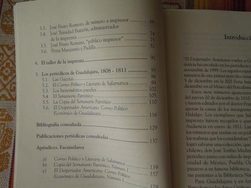 imprenta, impresor en guadalajara 1793-1811 carmen castañeda