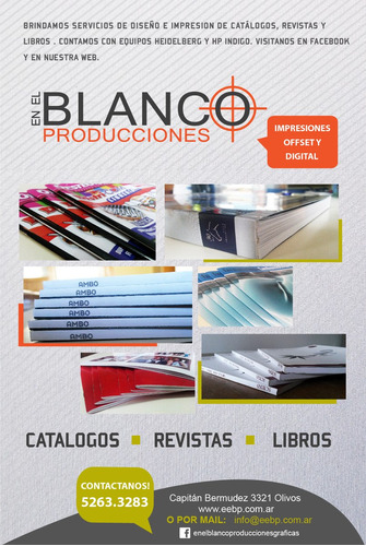 imprenta offset/digital - folletos, catálogos, revistas