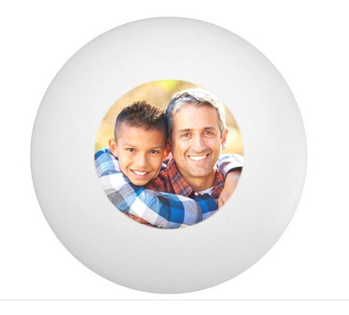 impresion 12 pelotas ping pong personalizada tu foto logo