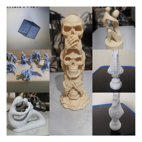 impresión 3d. filamento. y resina