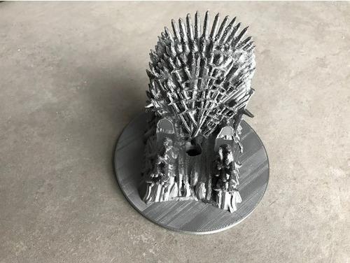 impresion 3d: game of throne- iron throne trono de hierro
